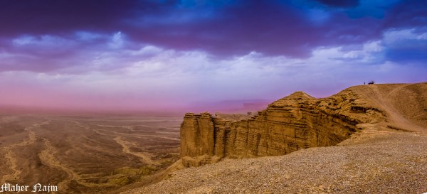 Let's take an adventure to The Edge of The World, Riyadh. Source: Flickr