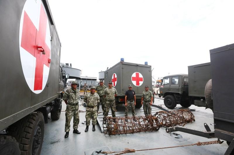 Resultado de imagen para hospital de campaña callao ministerio defensa