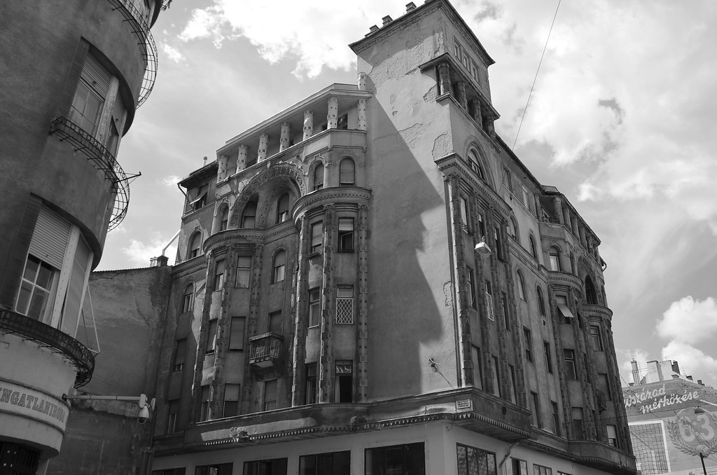 Budapest In Black And White Hostel One Budapest Hungary