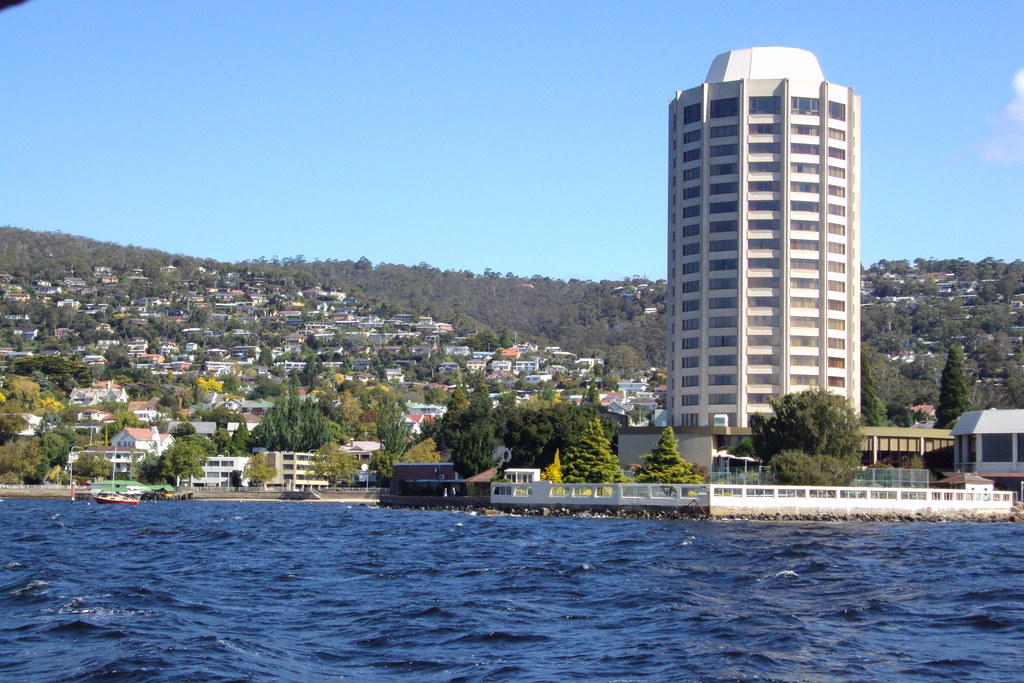 Hobart. Wrest Point Casino.