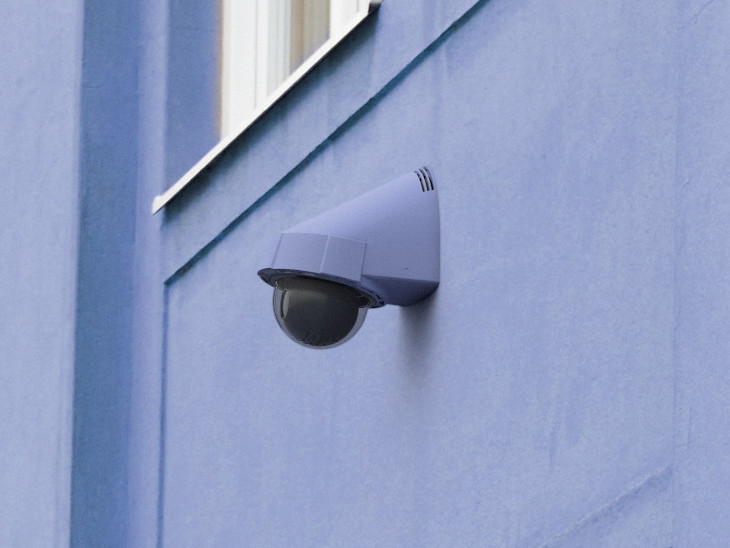 camera ip alarme
