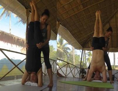 Steven Diana handstand