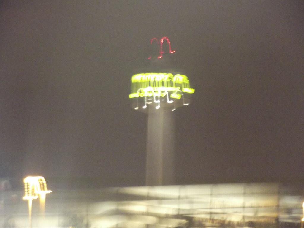 Radio City 967 Tower  from Albert Dock Liverpool  nigh