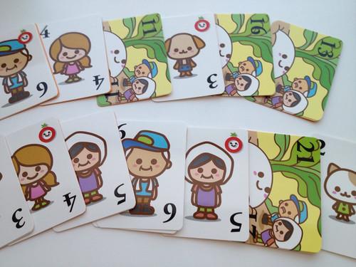 カードゲーム「Aozora farm」