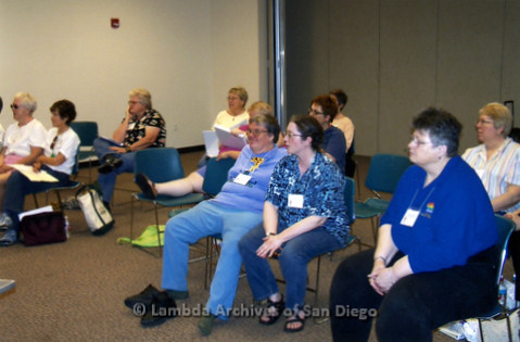 San Diego Women's Chorus (SDWC) hosts National Sister Singers Festival 2006: 'SDWC' at San Diego State University planning for the event weekend.