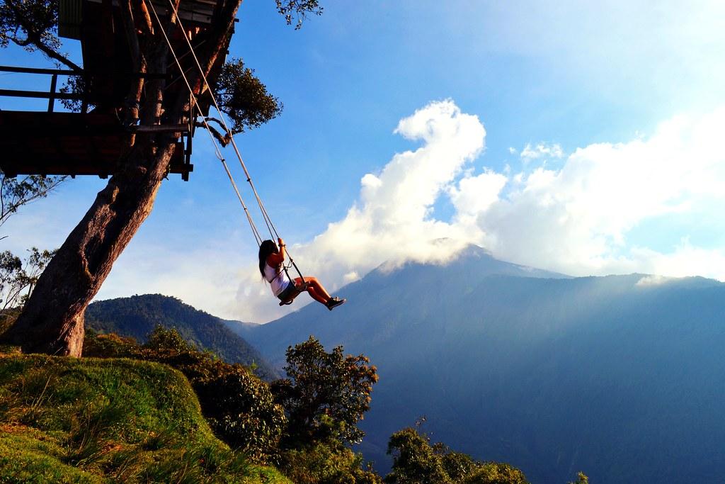 La casa del árbol - Baños, Ecuador
