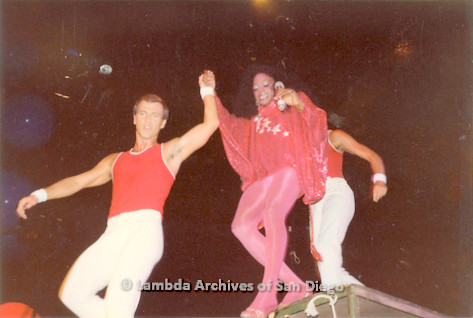 1982 - 'Summer Heat' at the Sports Arena in Point Loma: Variety Show Disco Performance.
