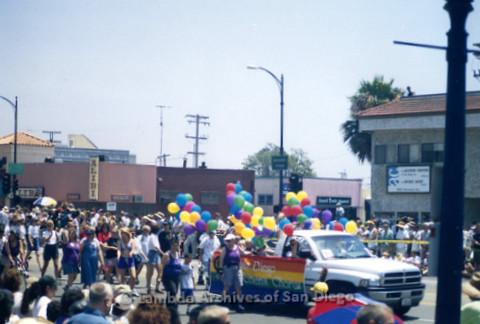 San Diego Pride Parade 1998: San Diego Women's Chorus