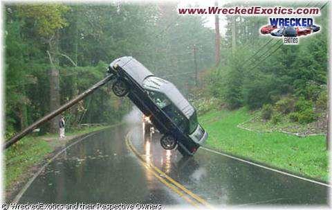 weird car crash rommy