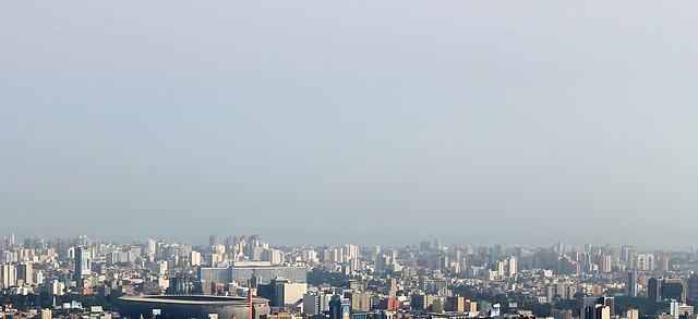 Lima Peru Metropolitan cityscape