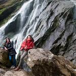 Irlanda, Condado de Wicklow, Powerscourt Waterfall 09