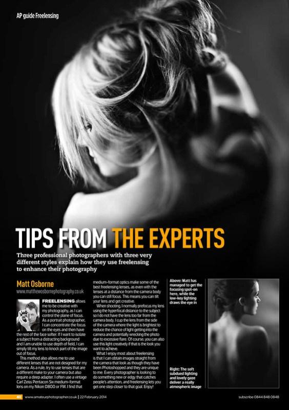Amateur Photography Magazine - Freelensing