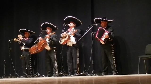 Mariachis Luceros del Norte - Alla en el rancho grande - II Encuentro Intercultural Virgen de Coromoto