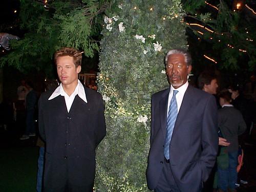 Brad Pitt, Morgan Freeman