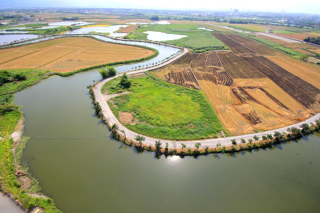 五十二甲溼地空拍圖。(圖片來源:荒野保護協會宜蘭分會) | TEIA | Flickr
