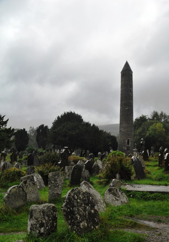 Travel to Ireland: Wild Wicklow Tour, Tower in Glendalough