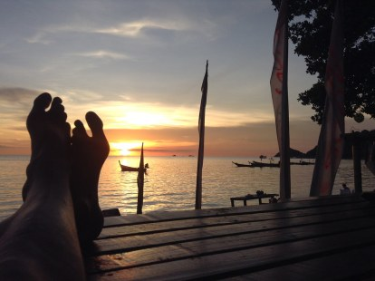 Evening relax at Koh Tao (2014)