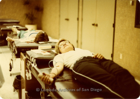 Blood Sisters blood drive, 1983: