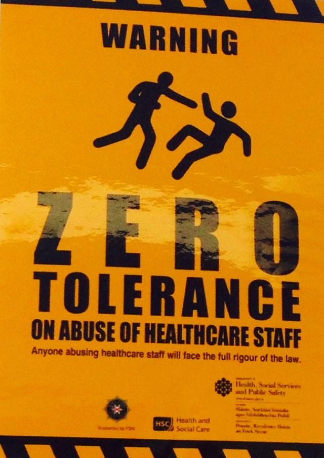 NHS zero tolerance | HeideKlein_OrangenKopf | Flickr