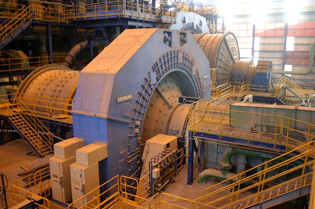 Molino Sag Es Un Equipo Usado En Plantas Mineras Para