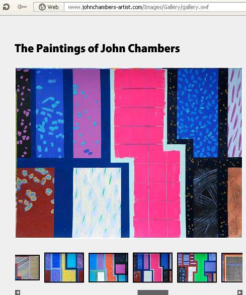 John Chambers' paintings