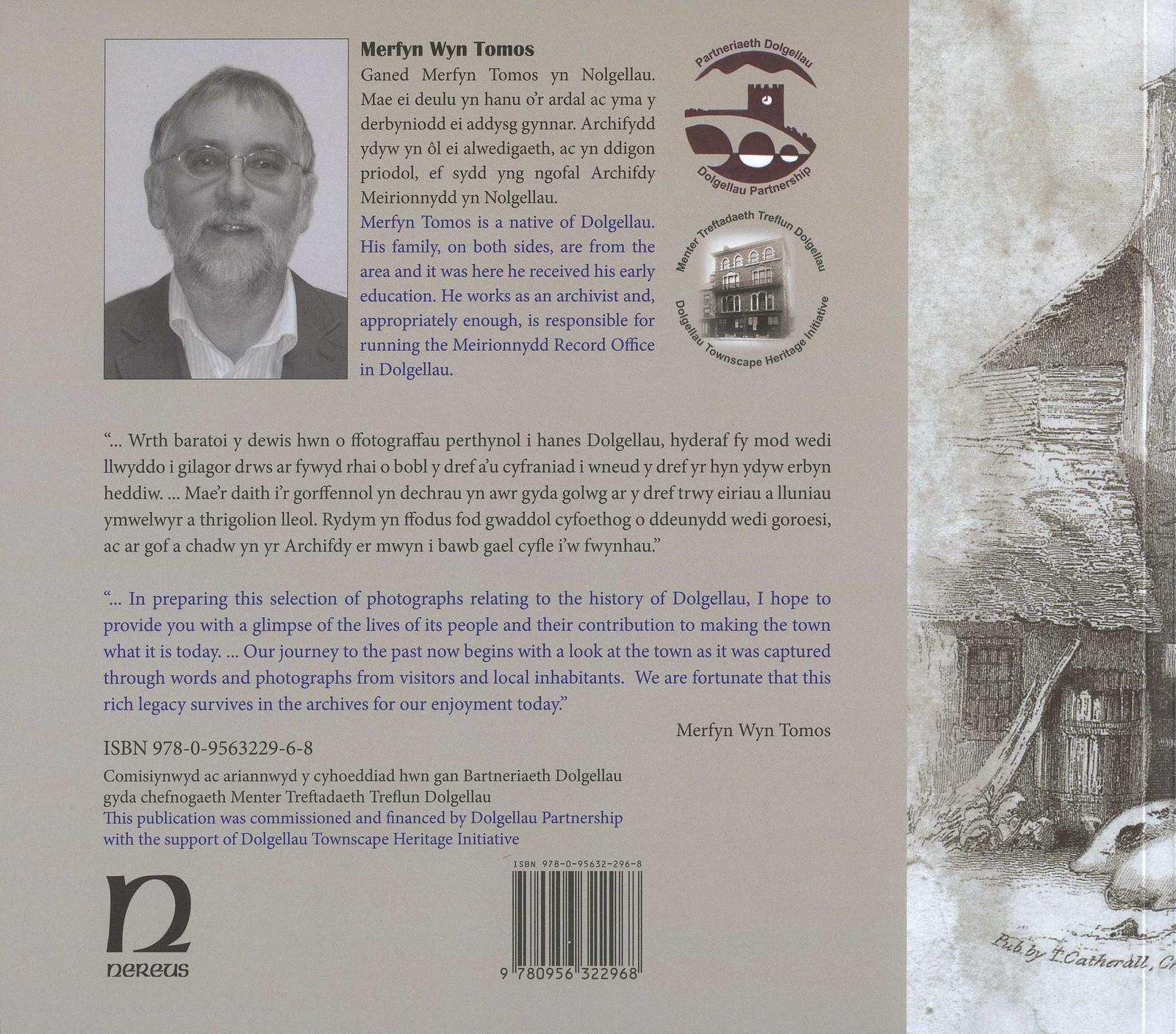 Dolgellau Book 2 (2013) Back Cover