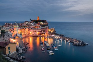 Vernazza in Blue