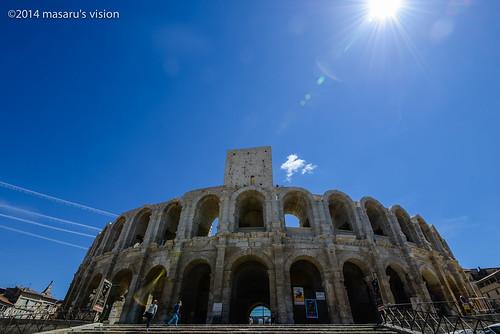 亞爾競技場 Arènes d'Arles,古羅馬圓形競技場(世界文化遺產) | www.masaru-vision.ne… | Flickr