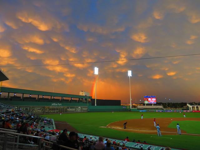 Beautiful post-storm sky