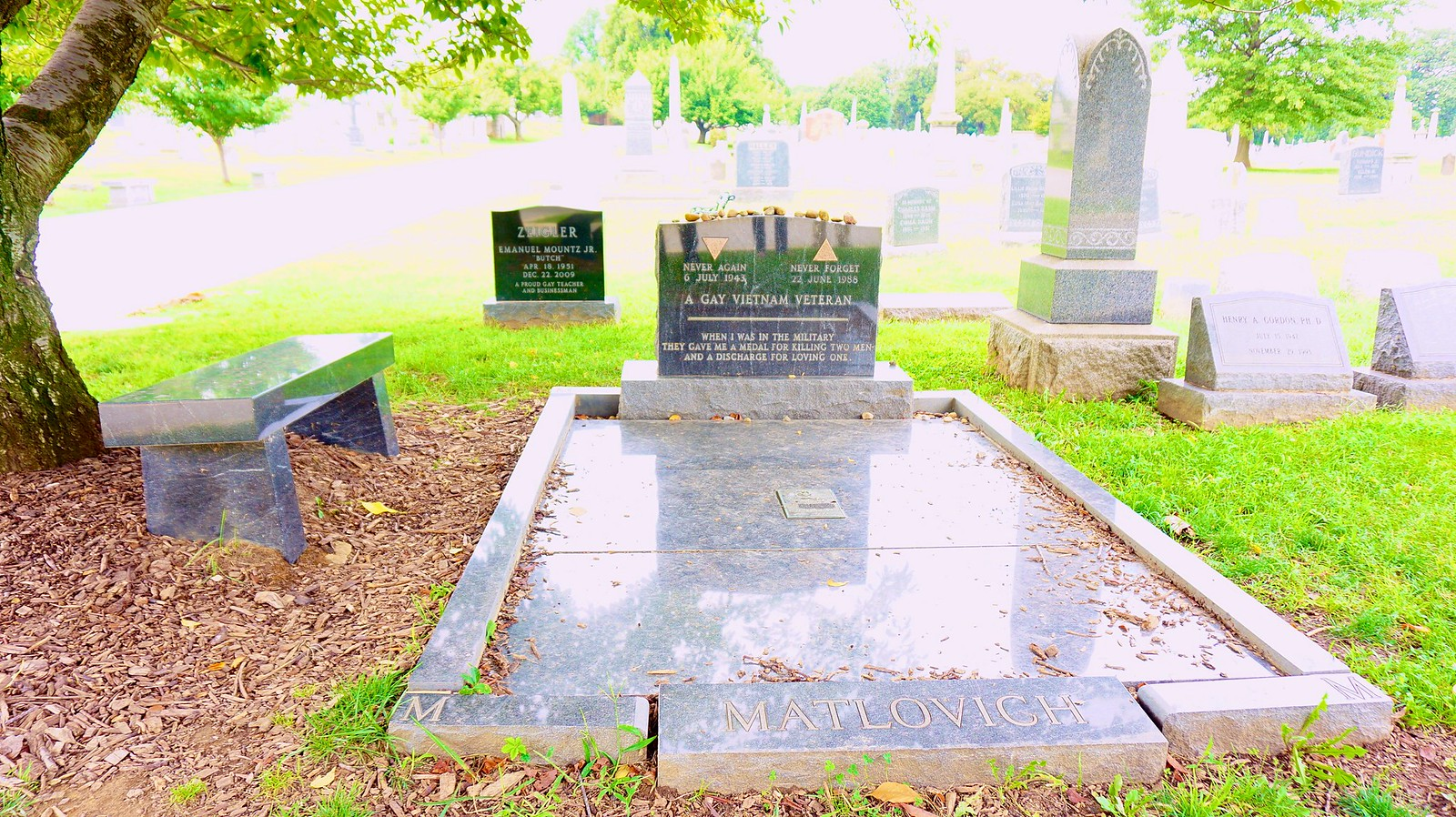 Thanks for Publishing my Photo, in 10 Facts You May Not Know About Congressional Cemetery | DCist