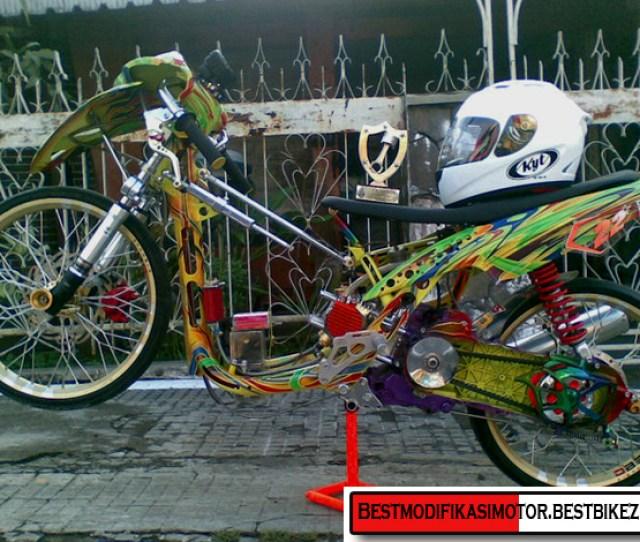 Gambar Modifikasi Motor Drag Honda Beat A Photo On Flickriver