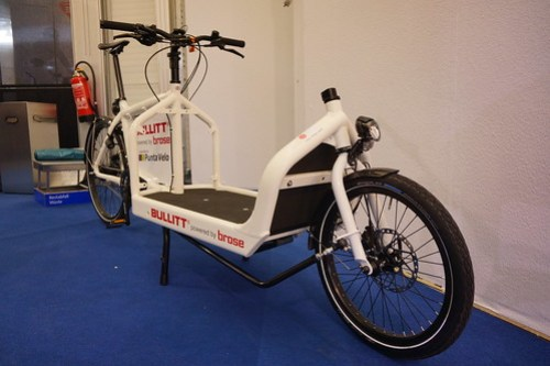 Eurobike 2014: Front-loading cargo bike