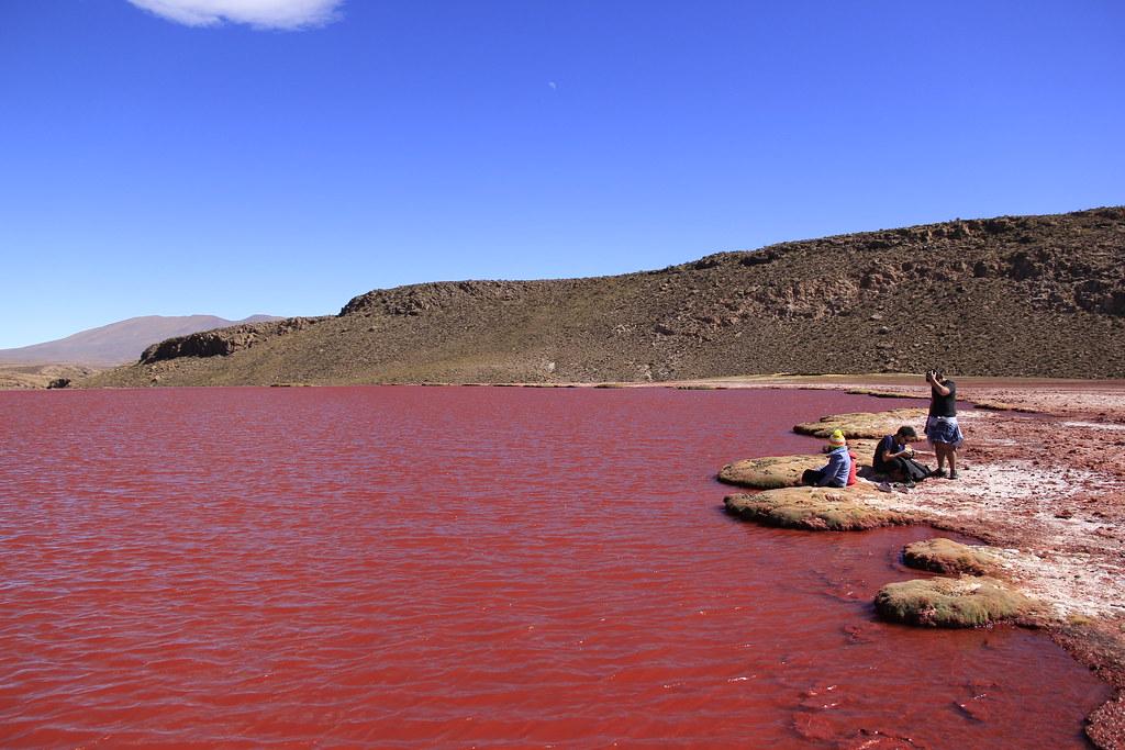 Laguna Roja, Lagunas de Colores, Mulluri