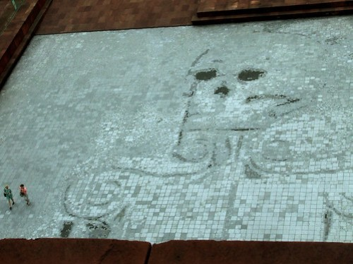 Dead Skull mosaic
