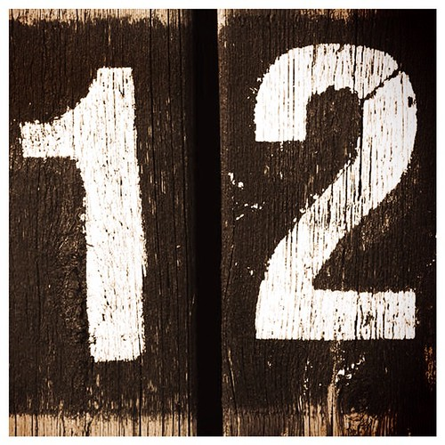 What's in a number? Today the #12 is for the number of yea ...
