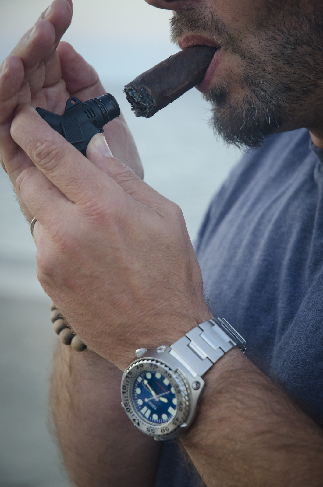 Cigar and Watch
