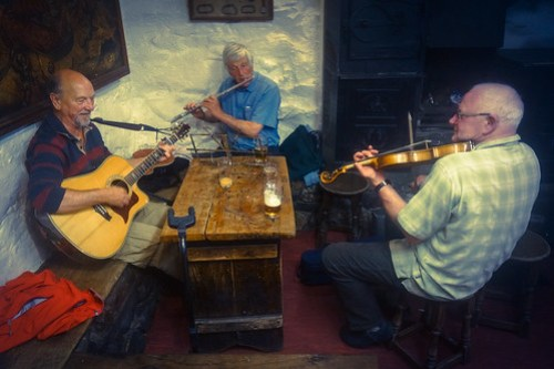 Music night at the Old Dungeon Ghyll