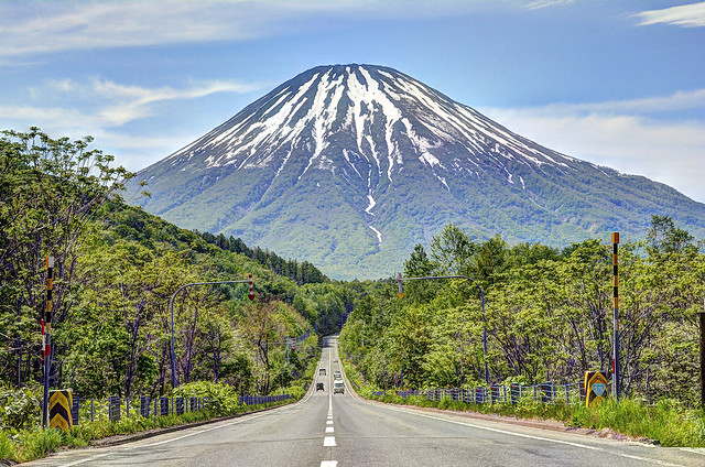 Mt.Yotei from Kimobetsu