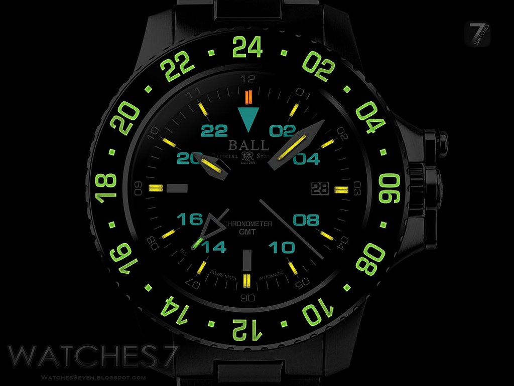 BALL Watch  Engineer Hydrocarbon Aero GMT Automatic Stain