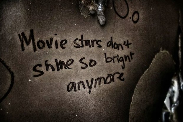 Movie Stars Don't Shine So Bright Anymore