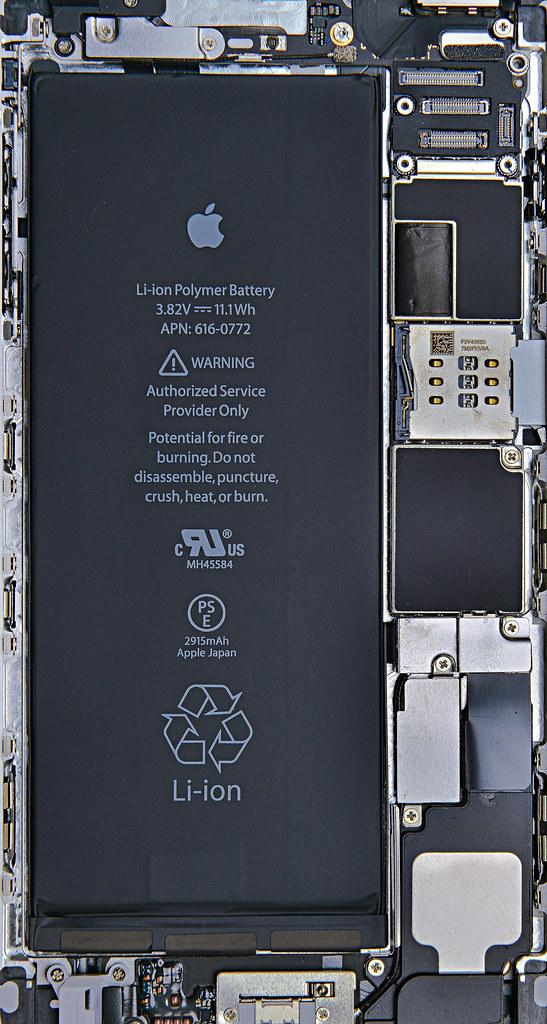 Ifixit Iphone Se Wallpaper Iphone6 Plus Silver Internals Wallpaper Iphone6