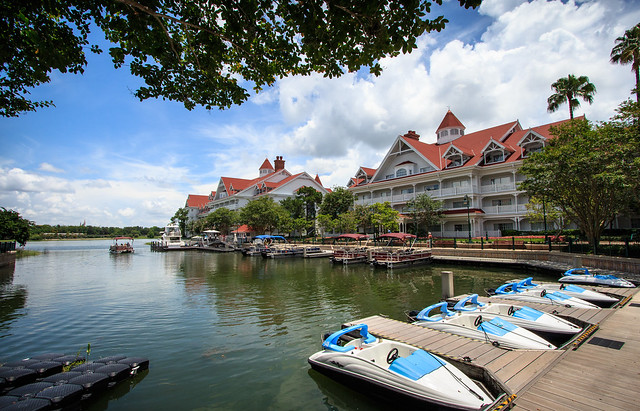 The Grand Floridian Marina