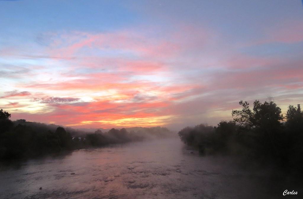 057 dan river sunrise