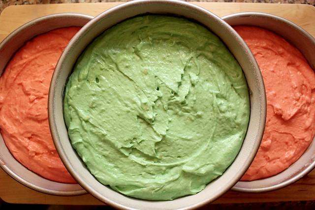 Tricolor Cake - 12