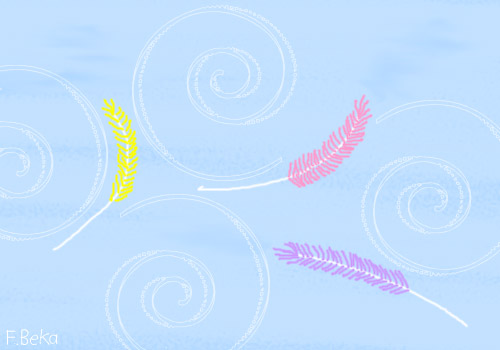 The Flight of Three Feathers