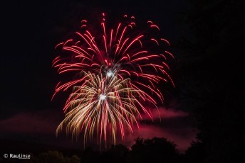 40. Tauperlitzer Seefest - Feuerwerk