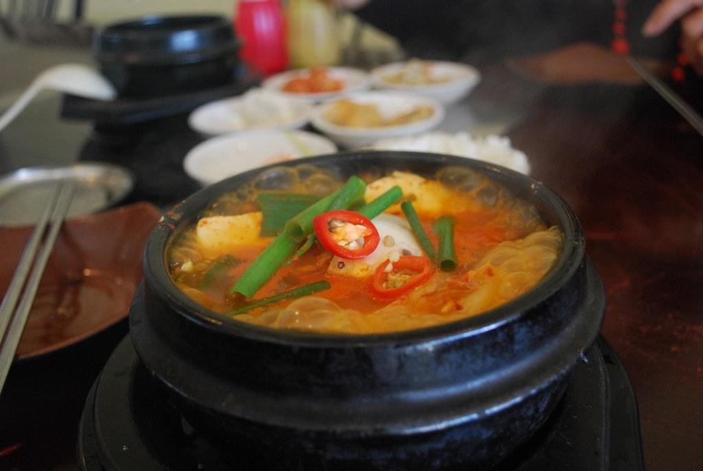 Kimchi jjigae -  Holmes Korea AUD12