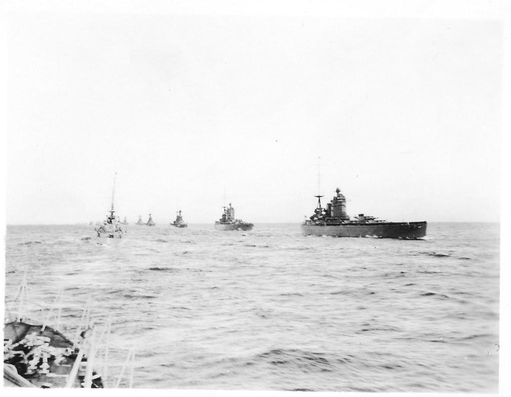 Royal Navy Battleships HMS Nelson & HMS Rodney | A scan of a… | Flickr