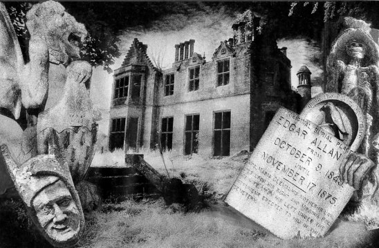 Photomontage Edgar Allan Poe   Photomontages done by hand fo…   Flickr
