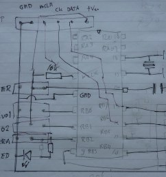 pic16f84 autokap controller wiring diagram by pe9ghz [ 1023 x 851 Pixel ]